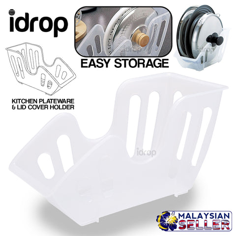 idrop LID STAND - Plateware and Cover Lid Storage Rack