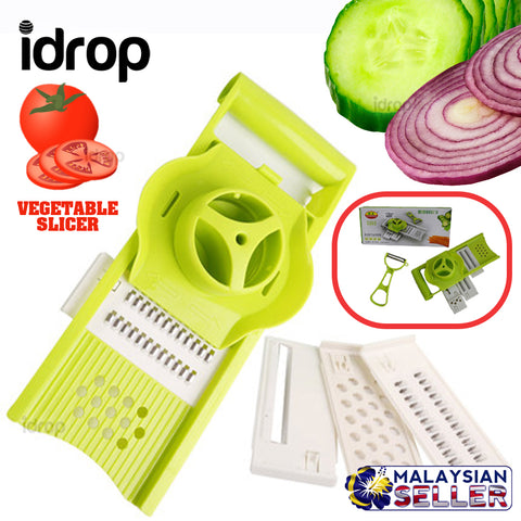 idrop Kitchen Multifunction Kitchen Slicing Board with Accessories