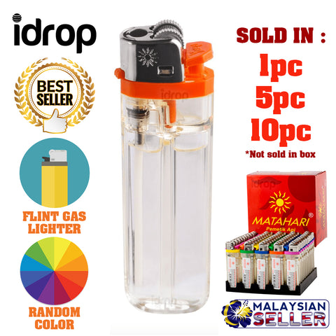 idrop MATAHARI Flint Gas Lighter [ 1pc / 5pcs / 10pcs ]