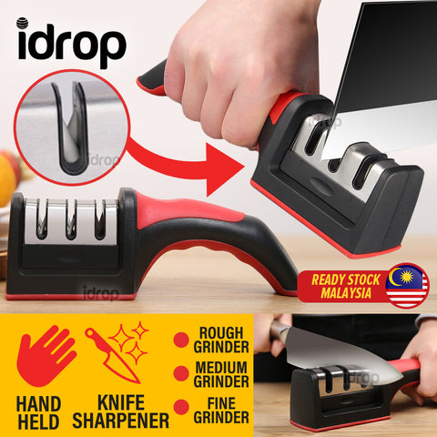 idrop Kitchen Household Portable Handheld Fast Quick Knife Sharpener