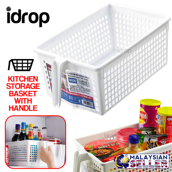 idrop Kitchen Storage Basket with Handle