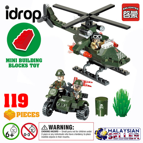 idrop ENLIGHTEN [ CHASE ]- Combat Zones Building Block Toy ( 119 pcs )
