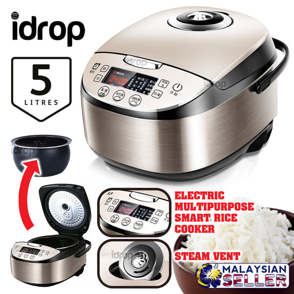 idrop 5L Multipurpose Smart Electric Rice Cooker