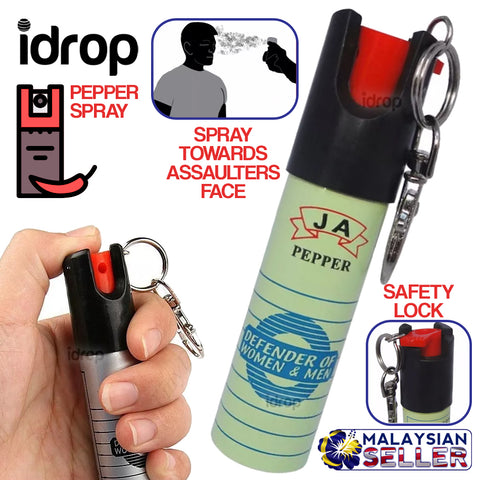idrop PEPPER SPRAY - Defender of Women & Men
