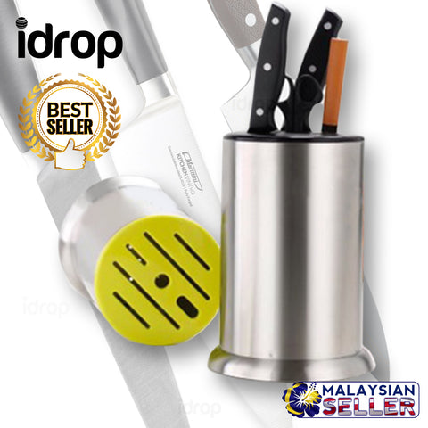 idrop CYLINDRICAL Knife Holder - Kitchen Knife Storage