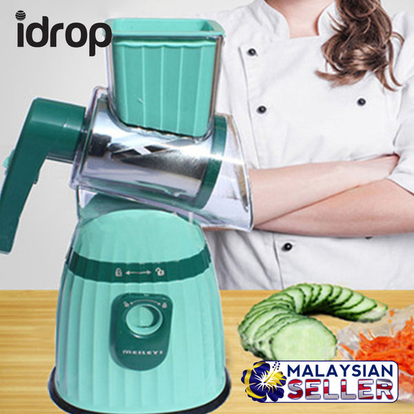 idrop Manual Hand Cranked Vegetable Grinder [ Meleiyi ] [ Random Color ]