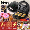 idrop Electric Donut Maker Sandwich Plate 750W [ 6 Slot ]