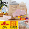 idrop [ 1pc ] Snack Package Preservation Clipping Sealer Food Clip Seal