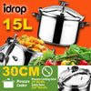 idrop 15L 30CM Kitchen Pressure Cooker