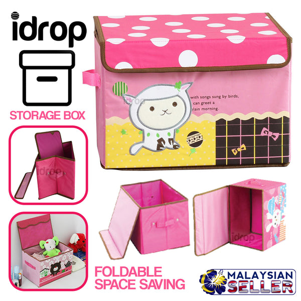idrop Foldable Storage Box Container