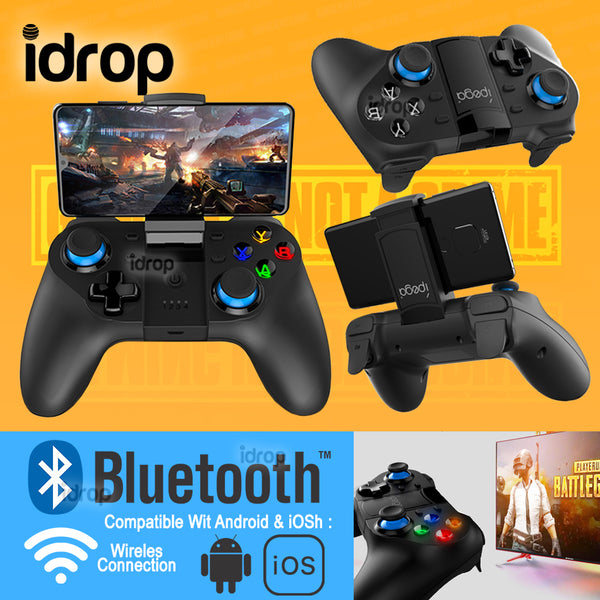 idrop iPega PG 9129 Bluetooth Wireless Game Controller Direct Play Console for Smartphone Android & iOS devices