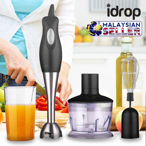 idrop Handheld Blender is a blender for blending usage | Meat/Fruit/Veggies