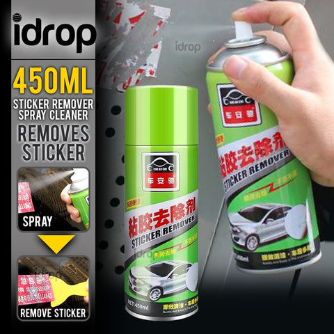 idrop 450ml Sticker Remover Cleaning Agent Spray Can