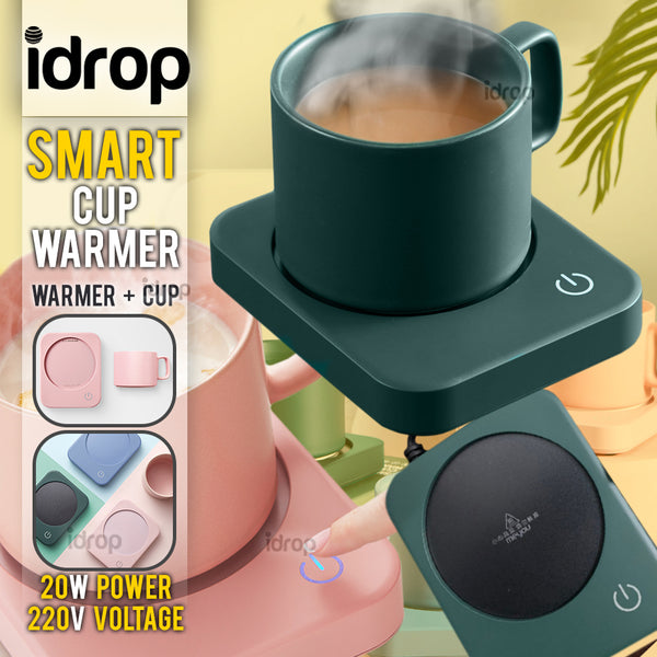 idrop MEYOU Nordic Design Heating Smart Cup Warmer + Cup