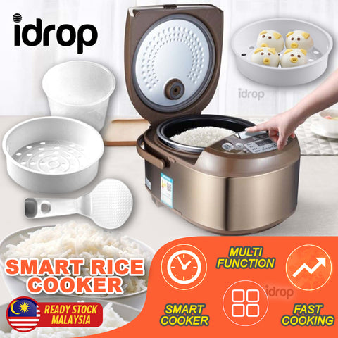 idrop [ 5L ] Multifunctional Smart Rice Electric Cooker [ 900W ]