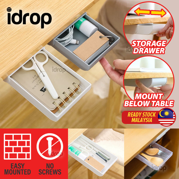 idrop Multifunction Mini Small Storage Desk Drawer Box