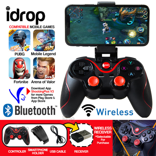 idrop C8s Wireless Bluetooth Gamepad Game Controller for iOS Android Smartphone Tablet Smart TV TV Box PC