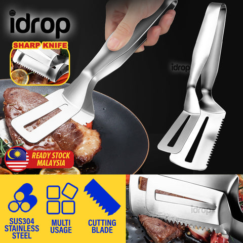 idrop Kitchen Frying Spatula Clipper SUS304 Stainless Steel