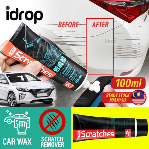 idrop [ 100ml ] Anti Scratch Wax Car Scratches Remover Repair Scrubbing Solvent