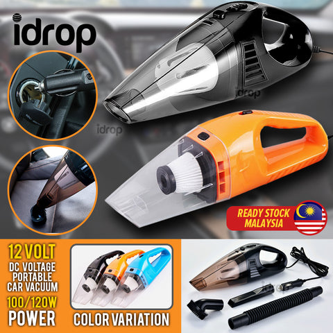 idrop Car Vacuum Cleaner Portable High Power Cleaning DC 12 Volt Vacuum