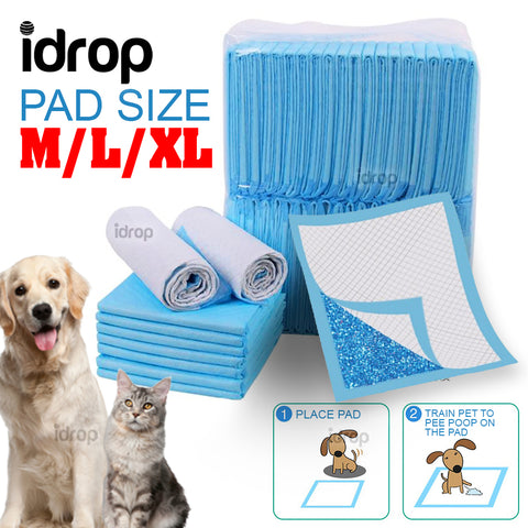 idrop Pet Dog Cat Diaper Absorbent Cleaning Pee Poop Training Toilet Pad [ M / L / XL ]