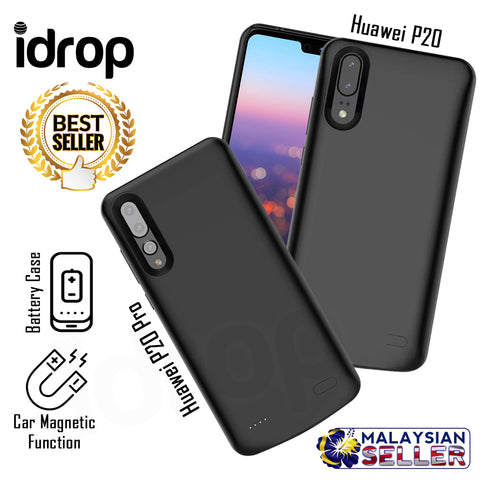 idrop 6000mAh Rechargeable Phone Battery Backup Case for Huawei P20 & P20 Pro + FREE GIFT