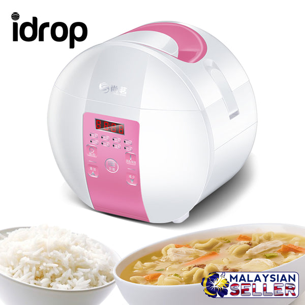 idrop 1.8L Compact Mini Electric Rice Cooker