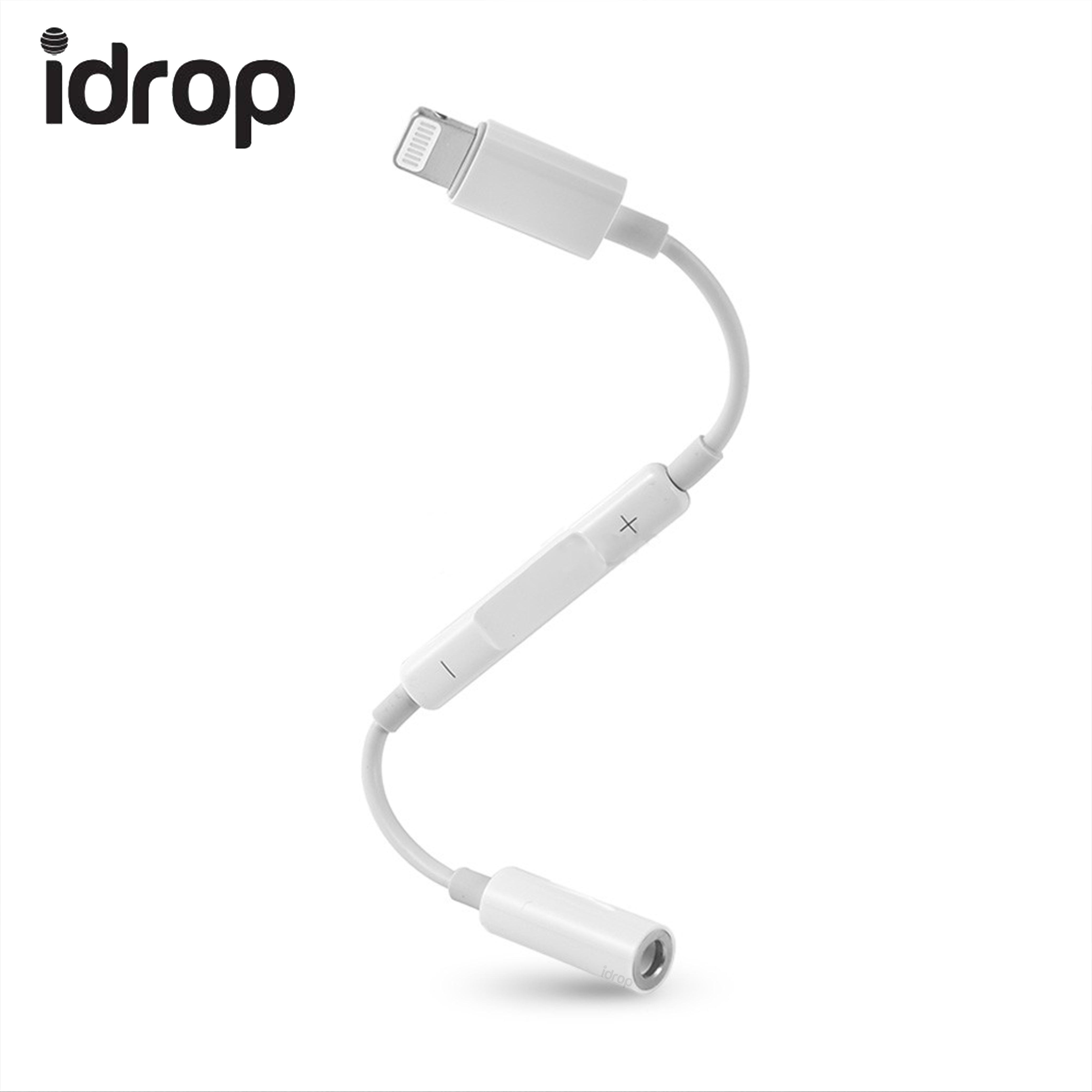 Idrop Lightning To Headphone Jack Adapter For Audio Aux Cable Wiring Connection Music