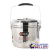 idrop 9L Multifunction Compact Layered Cooking Pot with handle and lock