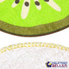 idrop [ SET OF 4 ] FRUIT NAPKIN - Kitchen Handkerchief Cleaning Towel