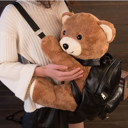 Plush Teddy Bear Backpack With 2 Sizes