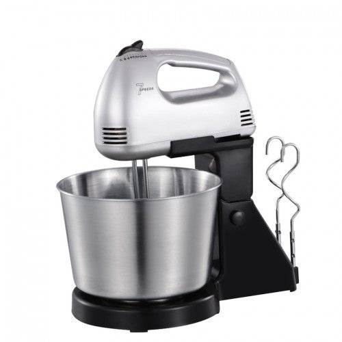 Portable Baking Hand Mixer With Detachable Stainless Steel (2L)