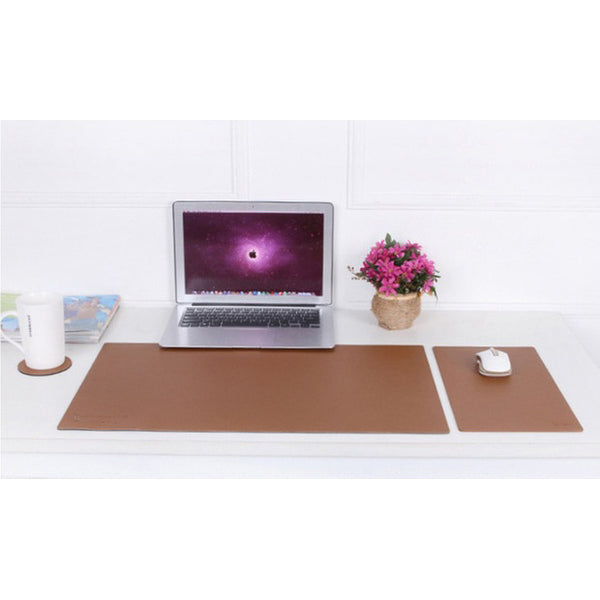 PU Leather Desk Pad Set