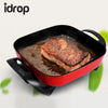 idrop Multifunction Electric Heat Non-Stick Stainless Steel Pan Cooker Household