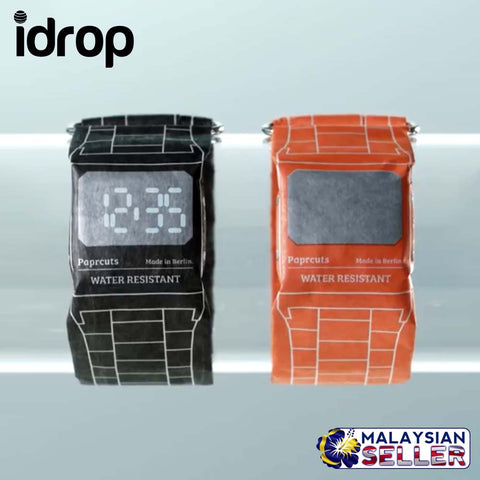 idrop Fashion Paper Watch Introduces Super-Light Waterproof and Durable