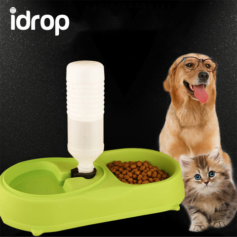 idrop Automatic Pet Feeder Food & Water Machine Basin