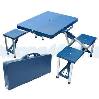 Portable Folding Table With Chair