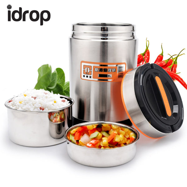 idrop Multifunctional Stainless Steel Vacuum Portable Pot