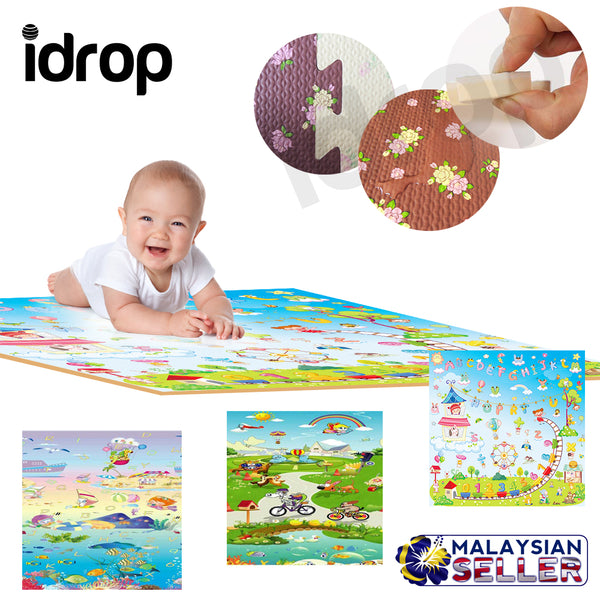 idrop Good Quality Education And Learning Classic Puzzle Mat for Children Kids Toys