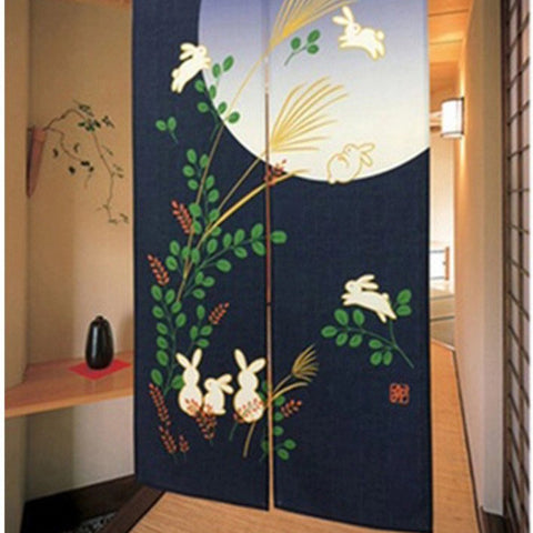 New Japanese Season Style Room Dividers Door / Window Curtain