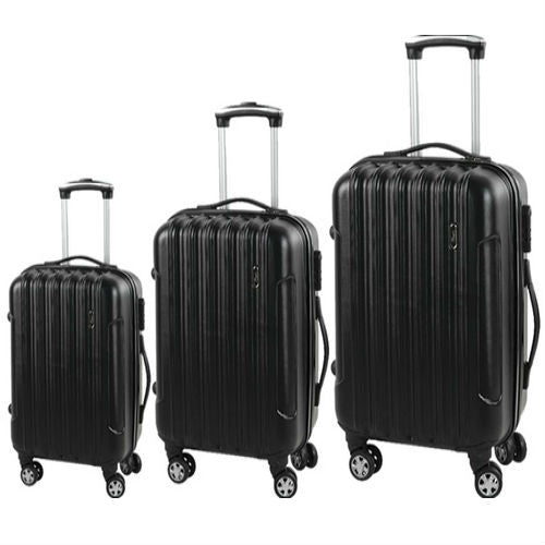 Set Of 3 Canpio 201 Hard Sheel Luggage Bags