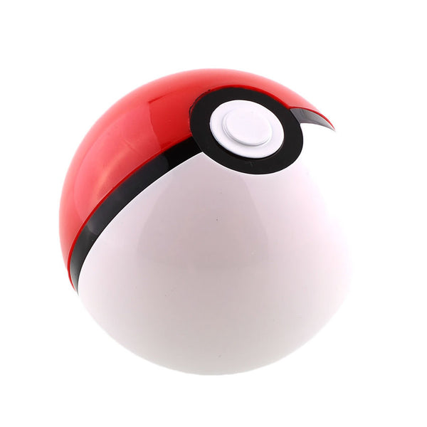 Set Of 3 Pokemon Pokeball Cosplay Plastic Pop-Up Poke Ball