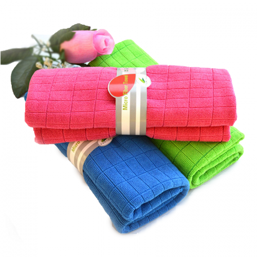 Set Of 3 Yonice Micro-Fiber Towel - Random