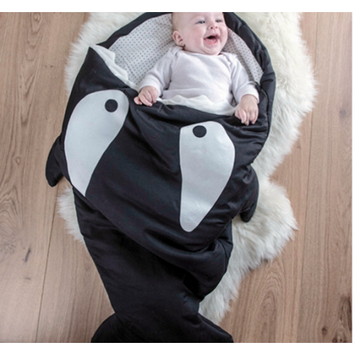 Shark-Themed Sleeping Bag
