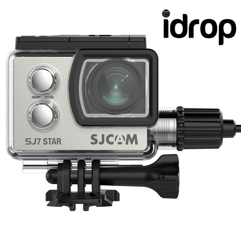 idrop SJ7 STAR NATIVE 4K ACTION CAMERA – SPORTS CAM W/ MIC, REMOTE SUPPORT