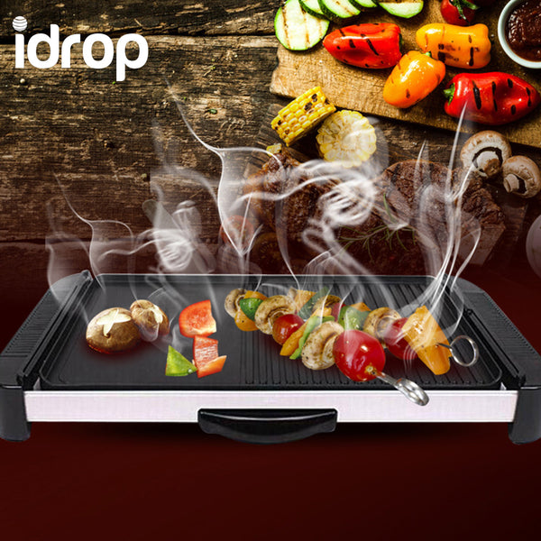 idrop High Quality Smokeless Electric BBQ Baking Pan