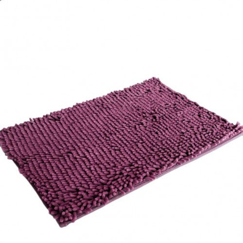 Soft Shaggy Non Slip Absorbent Bath Mat Bathroom Shower Rugs Carpet