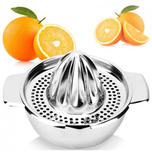 Stainless Steel Mini Hand Fruit Juicer
