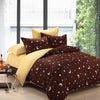 Star & Moon Patterned 500-Thread Count Fitted Bed Sheet Set - Single