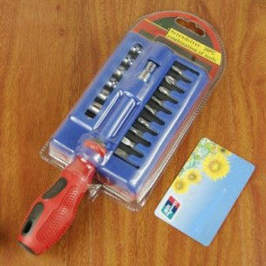 Screwdriver 20pc Combination Of Tools